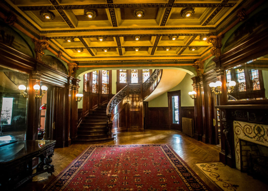 A Greener Rhodes Hall